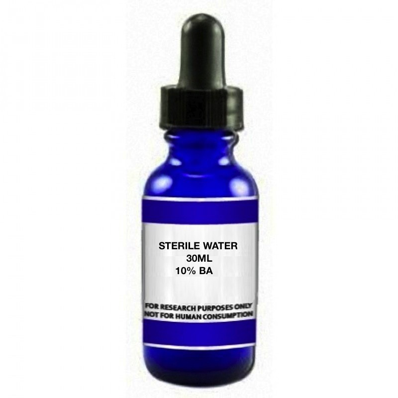 Sterile Water x 30ML (Bacteriostatic Water)