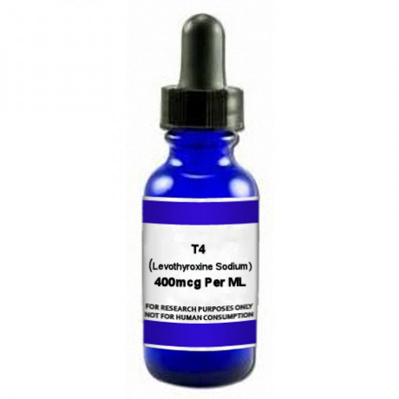 T4 (Levothyroxine Sodium) 400mcg X 30ML